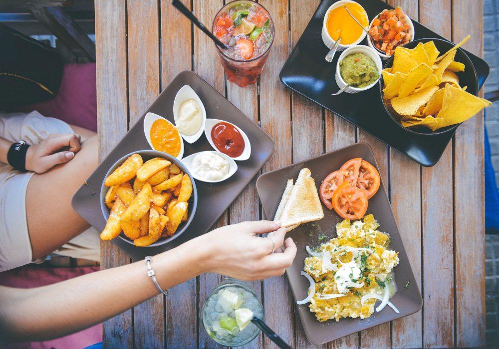 Dejeuner et tortillas