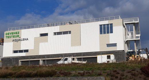 Bâtiment Devenez Testeur : rectangulaire à toit plat