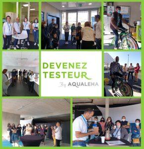 Porte ouverte de notre centre d'études sensorielles Devenez Testeur By AQUALEHA
